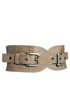 Image 1 ofUrban Code Wide Buckle Belt