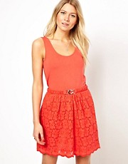 Oasis Lace 2 In 1 Dress