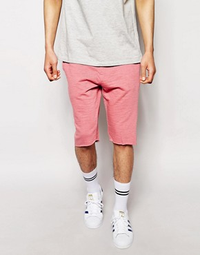 ASOS Jersey Shorts In Longer Length