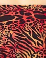 Image 3 ofASOS Red Leopard Pouch Over Suit