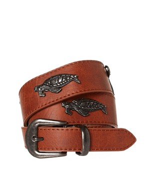 Image 1 ofASOS Animal Stud Waist Belt