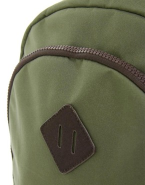Image 4 of ASOS Backpack with Contrast Panels