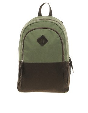 Image 1 of ASOS Backpack with Contrast Panels
