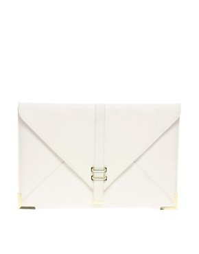 Image 1 ofASOS Slot Through Envelope Clutch