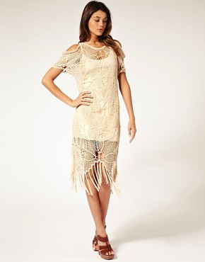 Image 4 ofASOS Premium Hand Crochet Dress