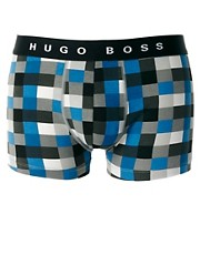 Boss Black Check Trunk