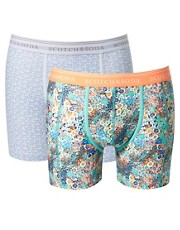 Scotch &amp; Soda 2-Pack Patterned Trunks
