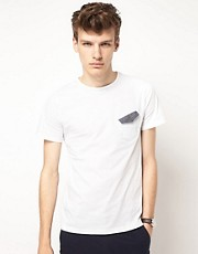 Gabicci T-Shirt With Chest Pocket