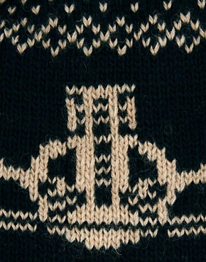 Image 3 ofVivienne Westwood Fairisle Orb Beanie