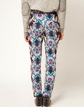 Image 2 of ASOS Africa Trousers in Printed Floral