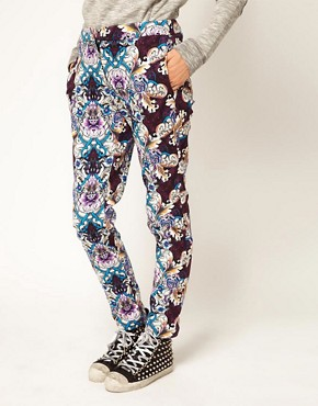 Image 4 of ASOS Africa Trousers in Printed Floral