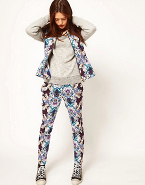 Image 1 of ASOS Africa Trousers in Printed Floral