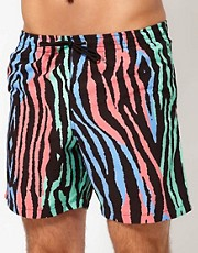Franks Zebra Swim Shorts