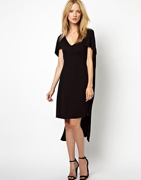 Image 1 ofKore by Sophia Kokosalaki Cape Crepe Dress