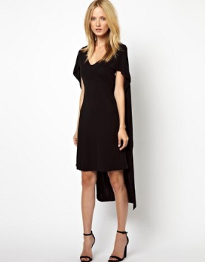 Image 4 ofKore by Sophia Kokosalaki Cape Crepe Dress