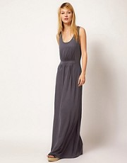 Chinti &amp; Parker Gathered Front Maxi Dress
