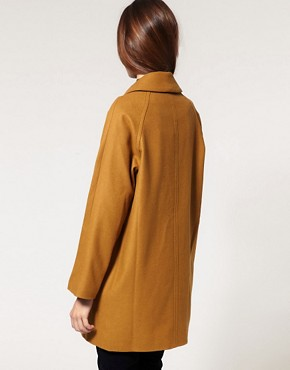 Image 2 ofASOS Double Breasted Car Coat