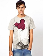 Camiseta Ri Ri No Face exclusiva para ASOS UK de BePriv