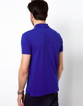 Image 2 ofPolo Ralph Lauren Slim Polo with Large Polo Player - Online Exclusive
