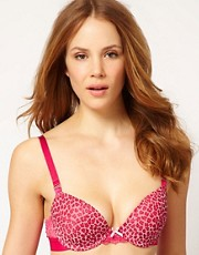 b.tempt&#39;d Express Yourself Leopard With Lace Contour Bra