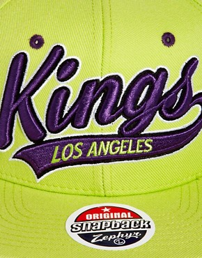 Image 3 ofZephyr Kings Bright Swoop Snapback Cap
