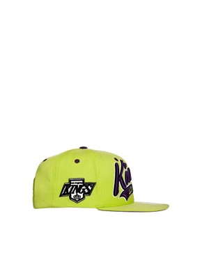 Image 4 ofZephyr Kings Bright Swoop Snapback Cap