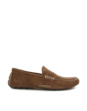 Image 4 ofPolo Ralph Lauren Telly Suede Loafers