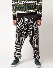 Horace Trousers with All Over Print