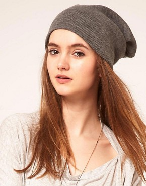 Image 1 ofASOS Boyfriend knit beanie