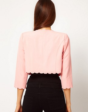 Image 2 ofASOS Cute Blazer With Scallop Edge