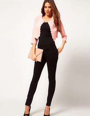Image 4 ofASOS Cute Blazer With Scallop Edge