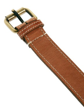 Image 2 ofASOS Edge Stitch Leather Belts