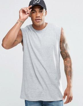 New Look Tank Top In Grey