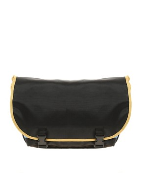 Image 1 ofASOS Nylon Messenger Bag