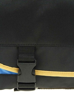 Image 2 ofASOS Nylon Messenger Bag