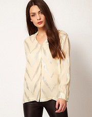 Selected - Lightening Strike - Camicia