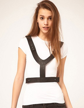 Image 1 ofASOS Harness Belt