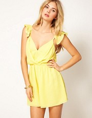 Jovonnista Frill Playsuit