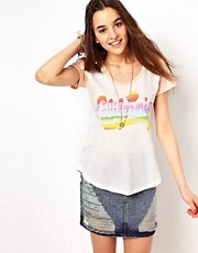 Junk Food California Rainbow T-Shirt
