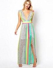 Love Maxi Dress In Stripe