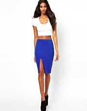 ASOS Pencil Skirt with Thigh High Split