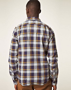 Image 2 ofSuperdry Lumberjack Twill Brush Long Sleeve Shirt