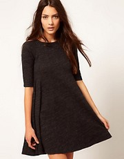 Ganni Swing Dress in Jersey