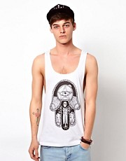 ASOS Vest With Mystic Hand Print
