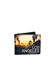River Island Wallet with LA Print