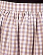 Image 3 ofASOS CURVE Exclusive Skirt In Pretty Gingham