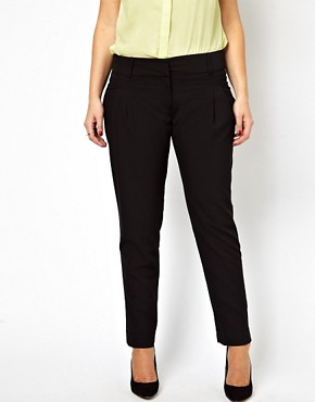 Image 4 ofASOS CURVE Peg Trouser