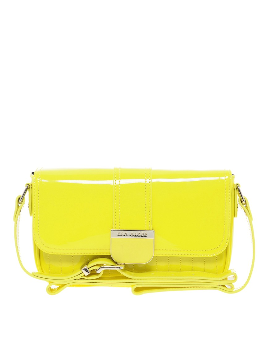 Image 1 of Ted Baker Skapari Patent Crossbody Bag