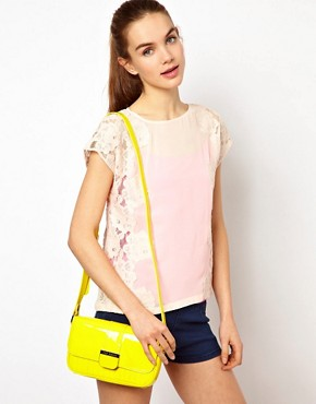 Image 3 ofTed Baker Skapari Patent Crossbody Bag