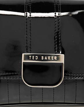 Image 4 ofTed Baker Skapari Patent Crossbody Bag